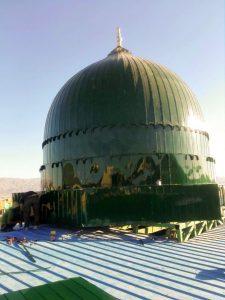 گنبد سبز مسجد النبی