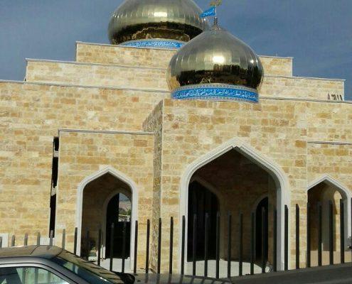 گنبدسازی برای مسجد