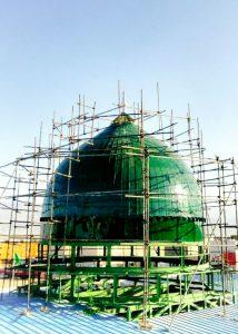 ساخت گنبد مسجد پیامبر