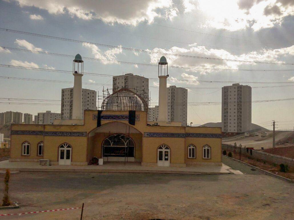 گنبد مسجد مسکن مهر